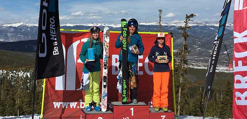 breck podium