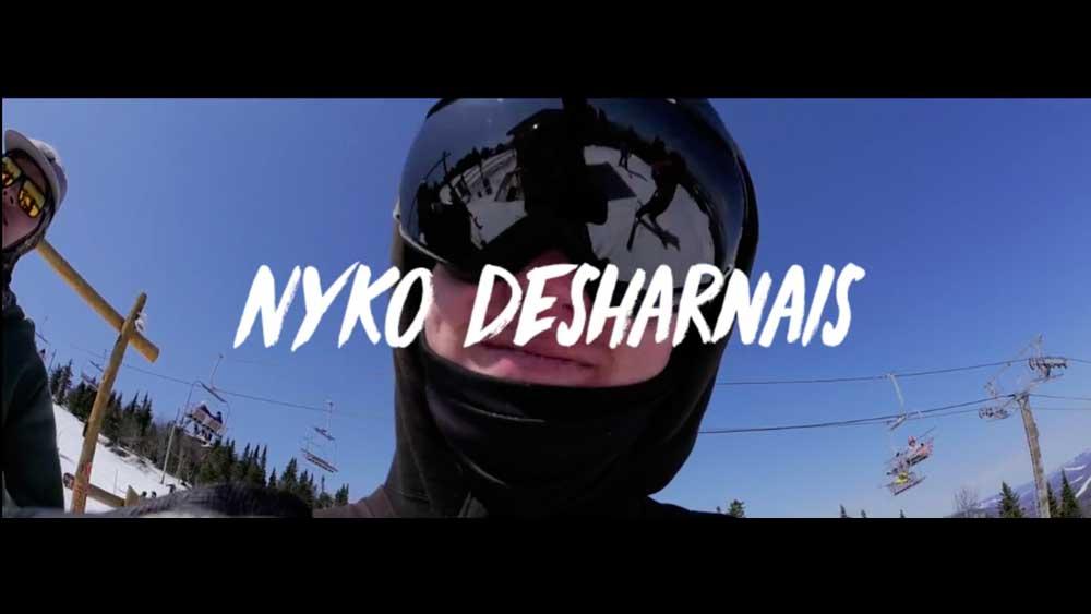 Nyko Desharanais Slides Mt Saint Anne