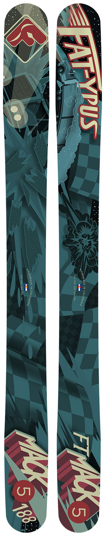 Fat-ypus Ski Graphic Gallery - Fat-ypus Handmade Skis