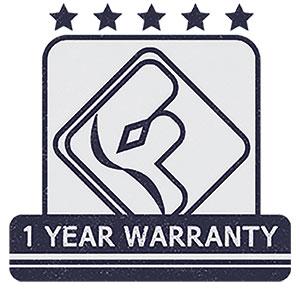 fatypus one year warranty